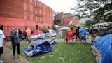 The deadline to clear the homeless camp at the corner of 13th and Republic Streets in OTR was extended. The city scrapped a deadline of noon Thursday.