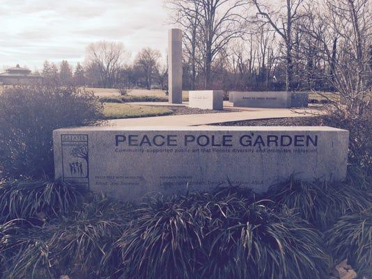 Peace Pole Garden