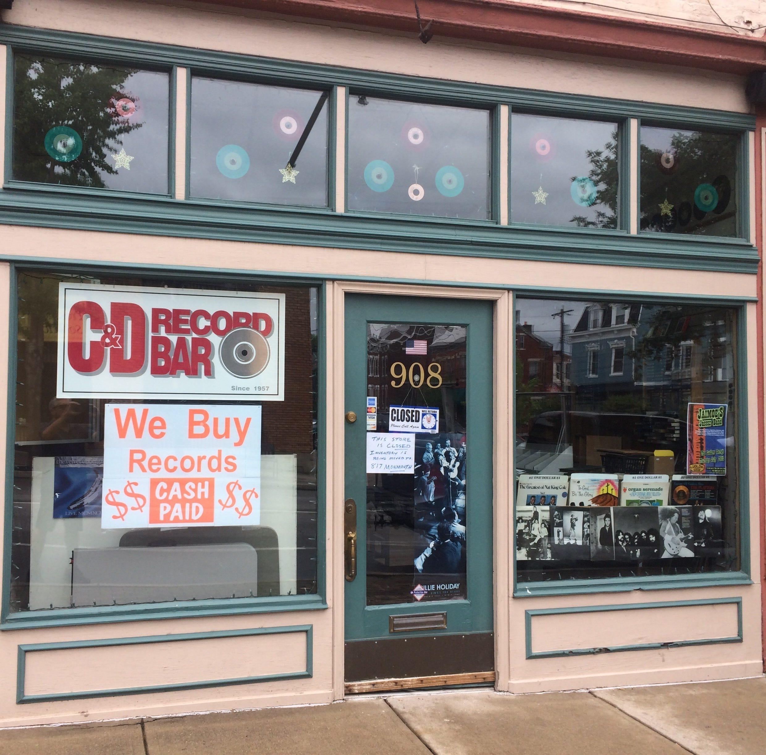C&D Record Bar: Oldest record shop in town has closed