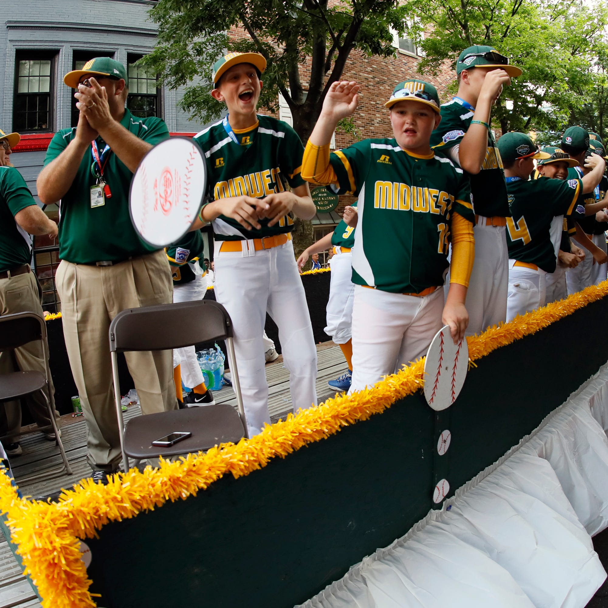 Here's how to follow Iowa's Grandview through the Little League World Series