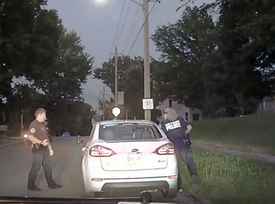 Local activist group says video shows Des Moines police officer racially profiling 2 black men