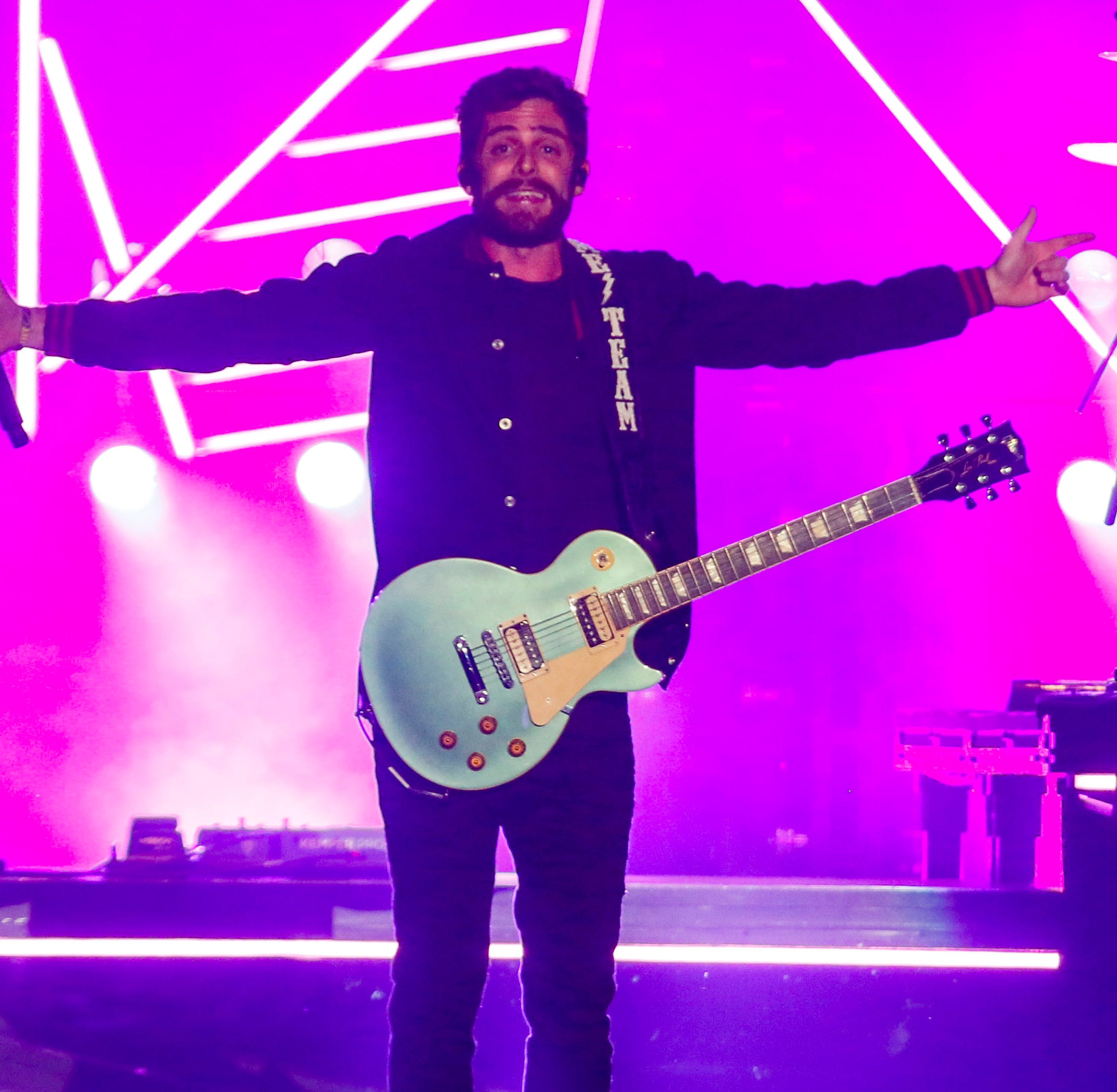 Thomas Rhett brings his country pop charm to a sold-out Iowa State Fair crowd