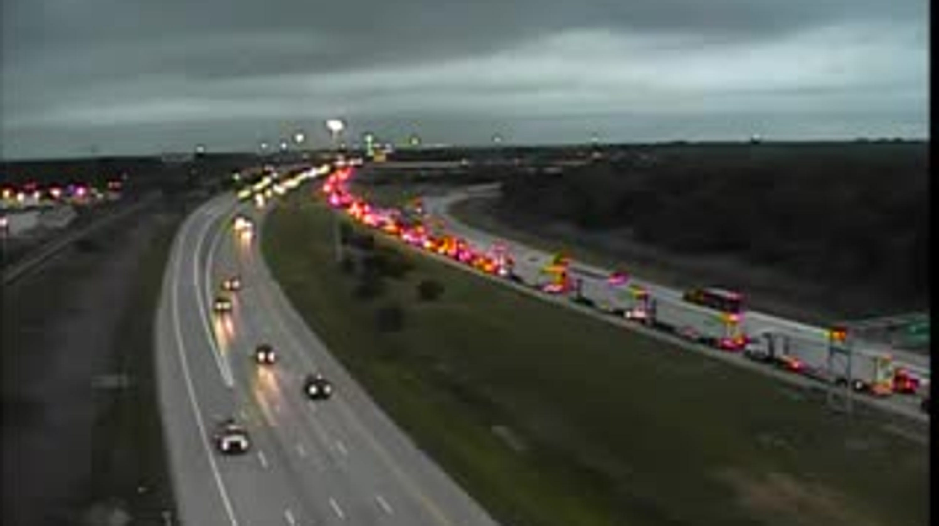 All but one lane closed on westbound I-94 at Southfield