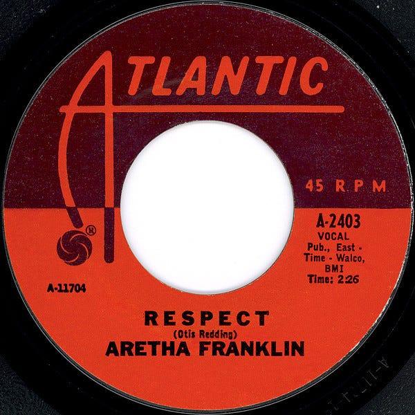 "Aretha Franklin's ""Respect"""