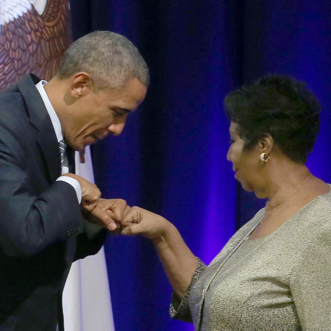 Barack Obama shares heartfelt message to Aretha Franklin