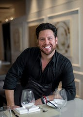 Scott Conant is the guest celebrity chet at the Free Press' Wine + Food event.