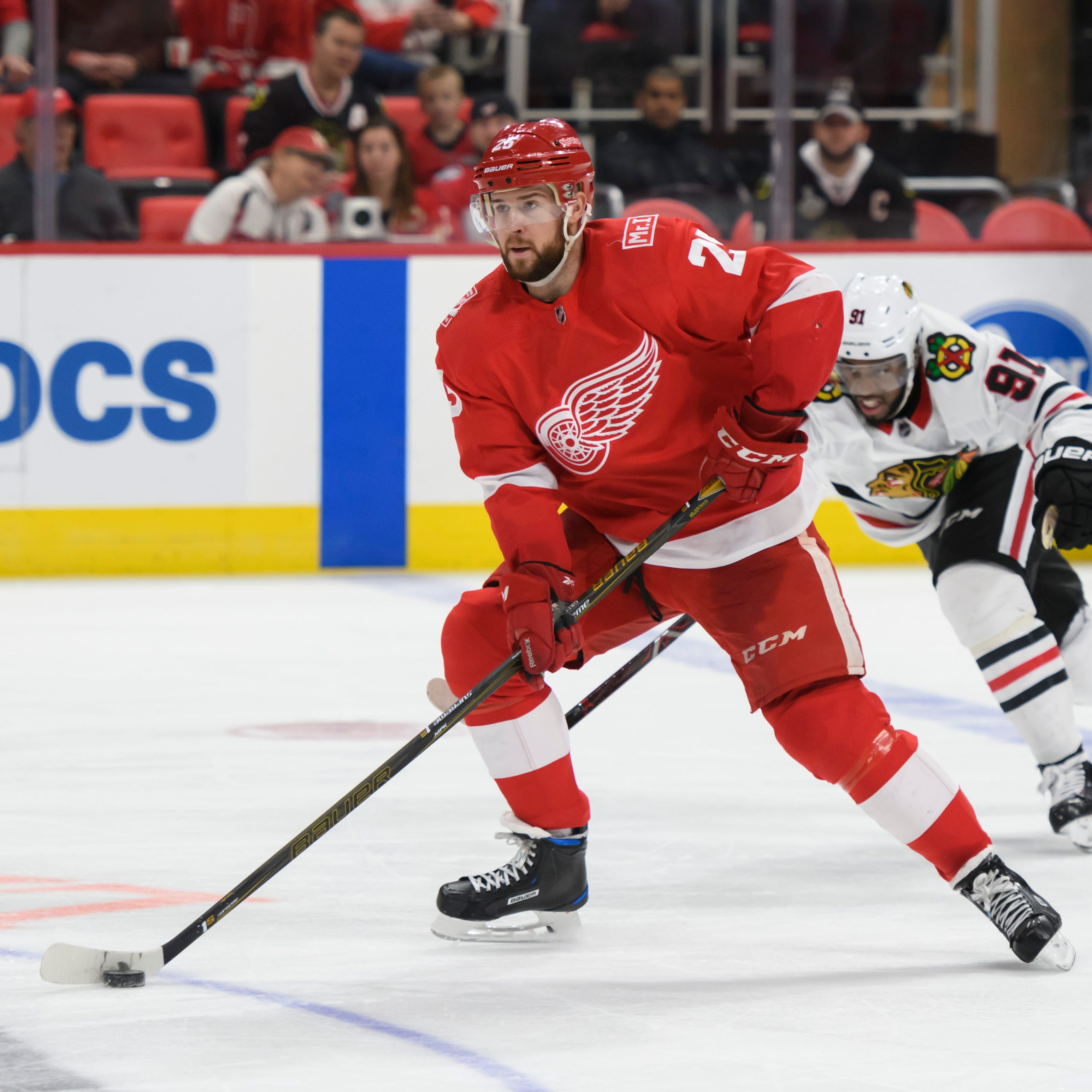 Red Wings defense on verge of overhaul with young talent on its way