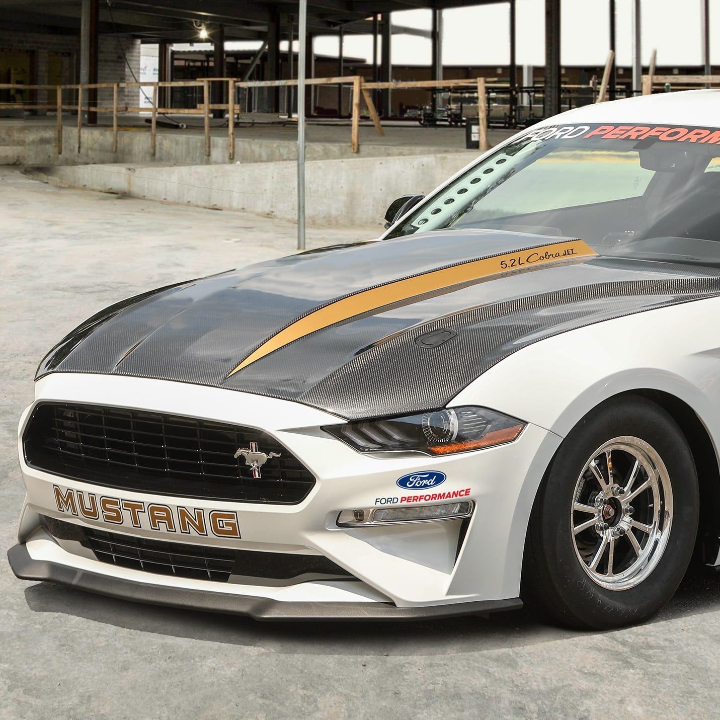 Ford unbridles 50th-anniversary Mustang Cobra Jet dragster