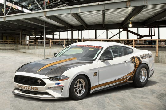 The newest rendition of the Cobra Jet is designed to run a quarter-mile track in the mid 8-second range at about 150 mph.