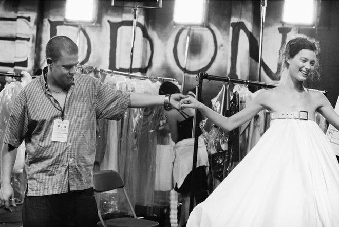"""Designer Alexander McQueen appraises his work in """"McQueen."""""""