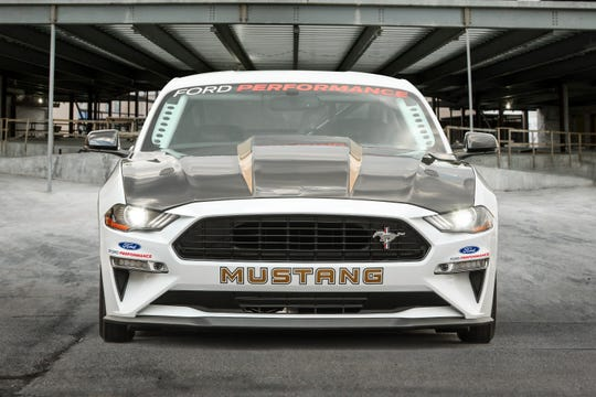 The limited-production Cobra Jet is the most powerful NHRA Mustang drag racer ever.