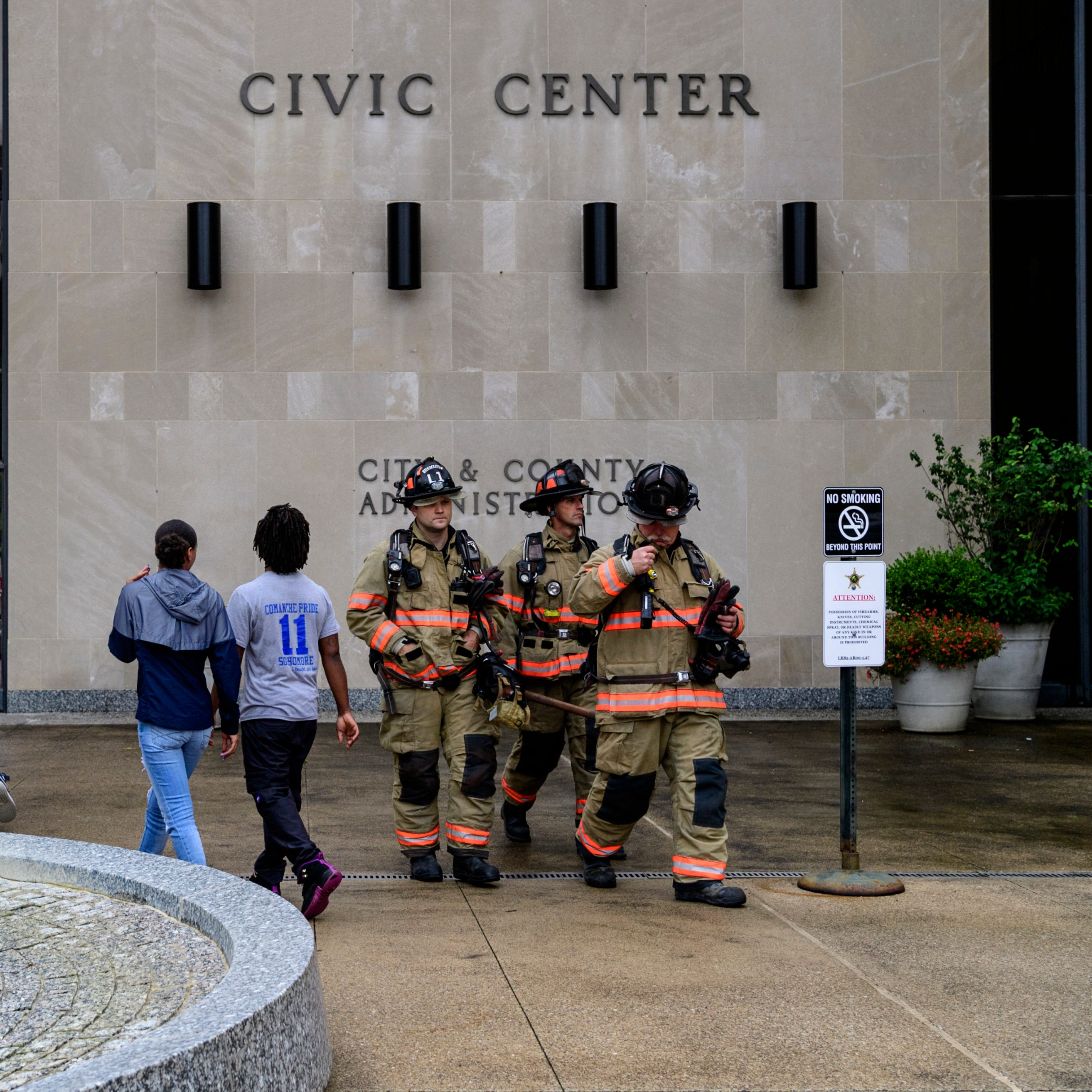 Downtown Evansville's Civic Center evacuated briefly for gas leak scare