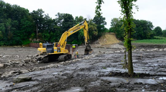 The Ohio Department of Natural Resources plans to conduct a three-year study in the spring of 2019 of how the dam's removal impacts fish in the Sandusky River.