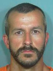 Booking photo of Chris Watts. Watt's pregnant wife, 34-year-old Shanann Watts, and their two daughters, 4-year-old Bella and 3-year-old Celeste were reported missing Monday, Aug. 13, 2018.