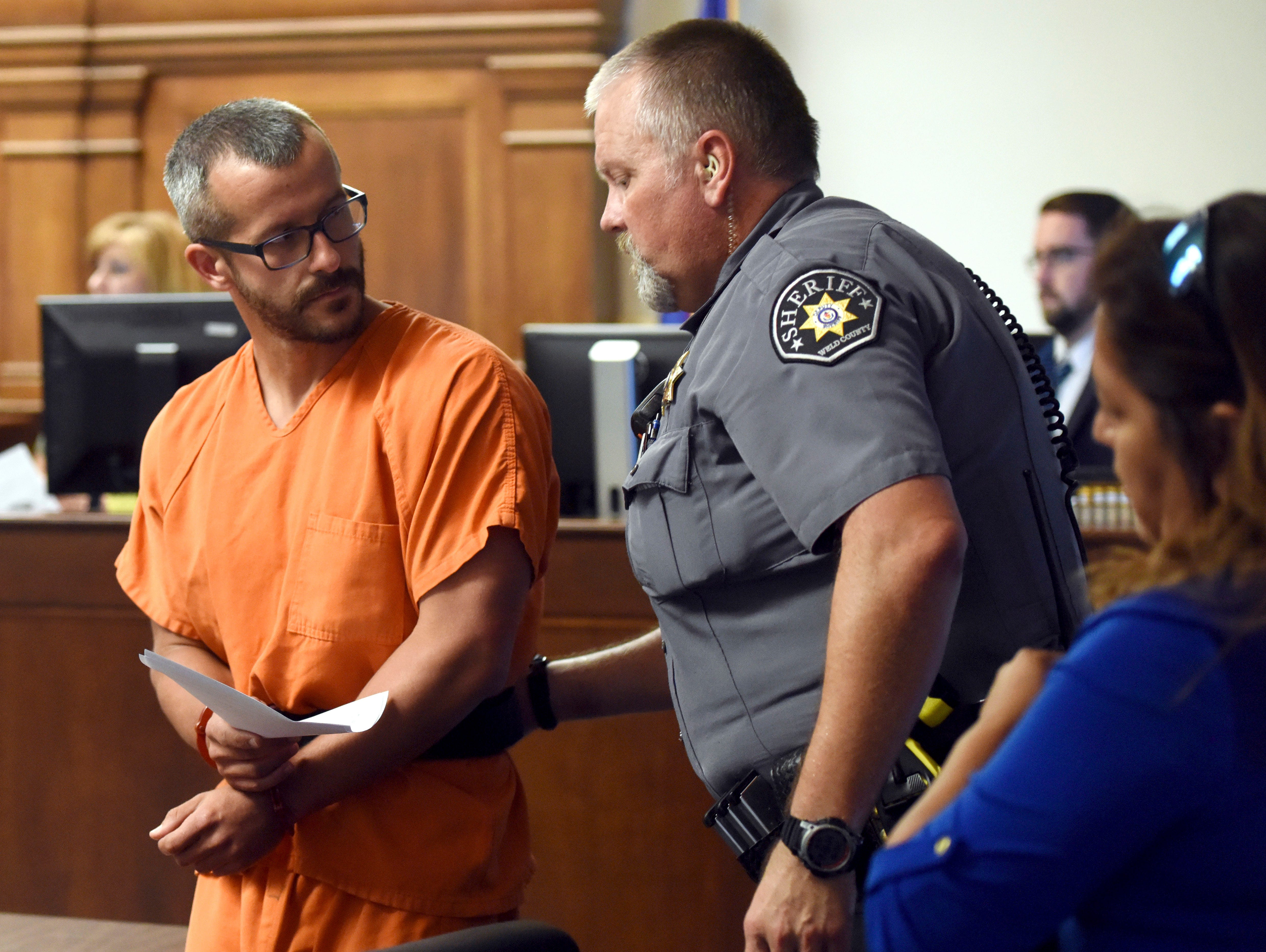 Colorado murder suspect claims pregnant wife strangled 2 young daughters