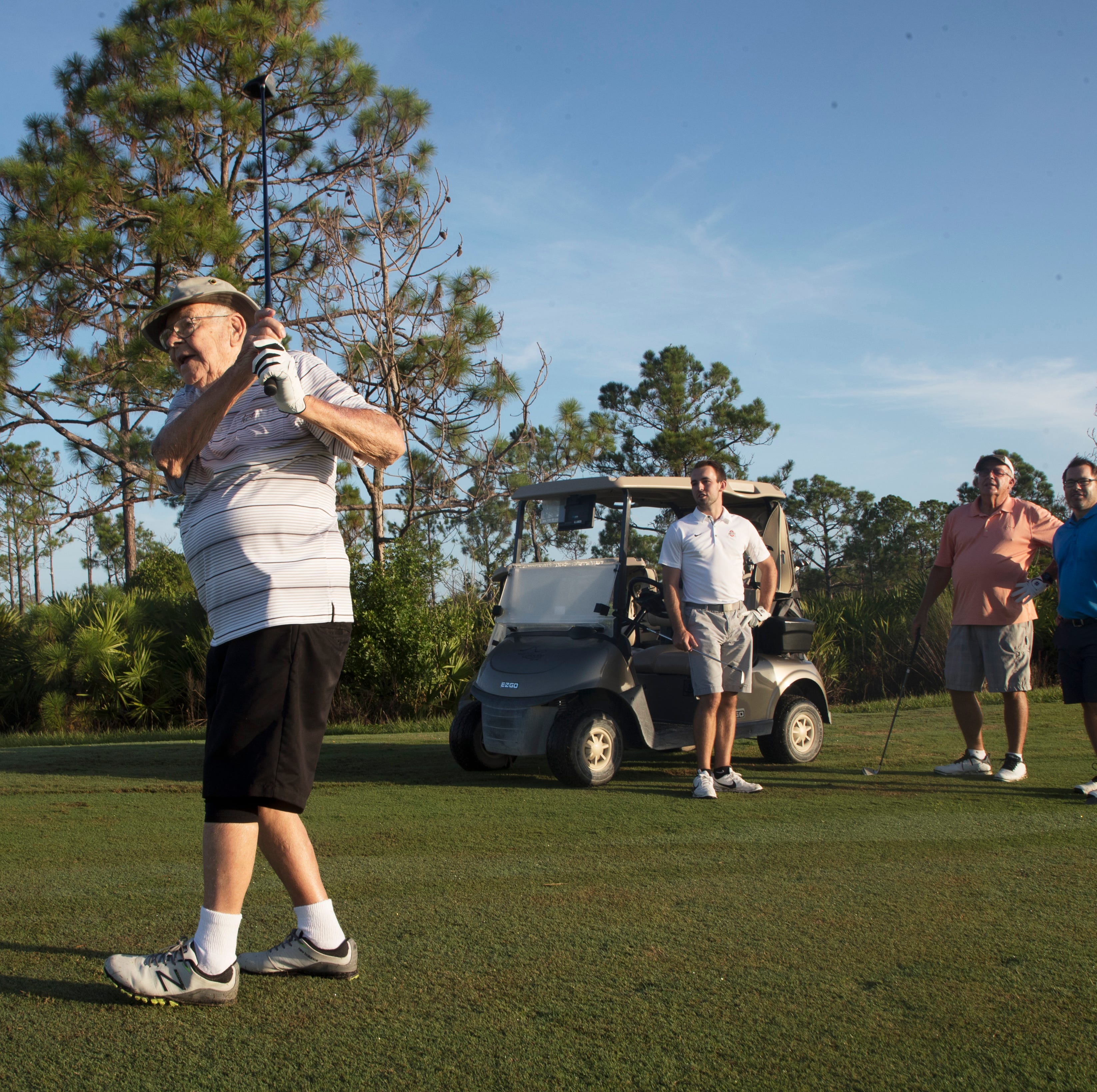Golf is all in the family — four generations of it — for the Keisters from Ohio