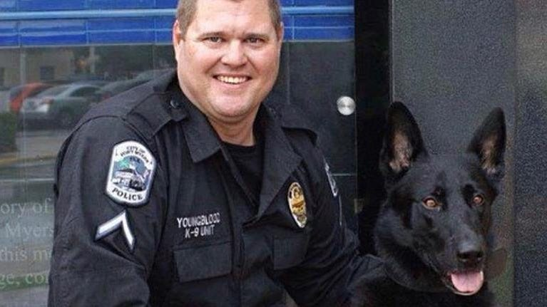 Fort Myers Police Department mourns the loss of beloved K-9 Thor