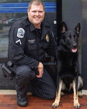 The Fort Myers Police Department lost one of its K-9s after he battled with declining health issues.