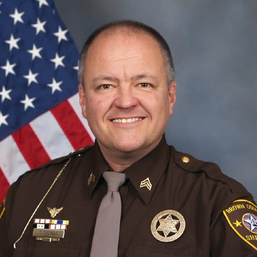 Brown County Sheriff: Democrat Tim Thomas says patrol cost savings can boost service