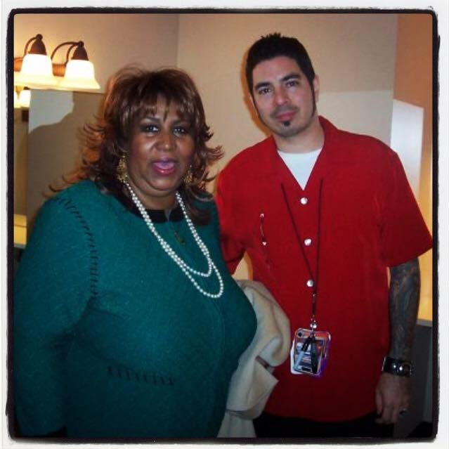 What was Aretha Franklin like backstage at Oneida Casino in 2006? 'Awesome'