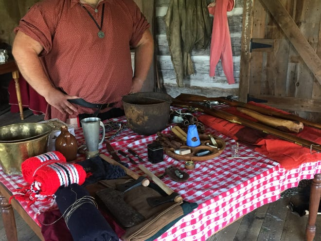 Wausakiu Fur Trade Rendezvous will present demonstrations at the Beyer Home in Oconto from 10 a.m. to 4 p.m. on Friday, Aug. 24 and 10 a.m to 1 p.m. Saturday and Sunday on Aug. 25-26.