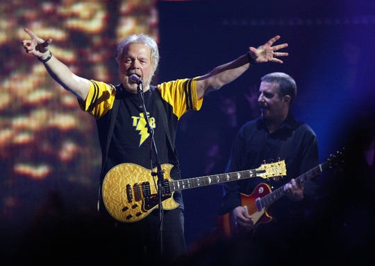 Randy Bachman, shown here during the 2005 Juno Awards, will play the Meyer Theatre Jan. 26. Tickets go on sale Friday.