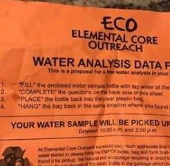 City water purification company's door-to-door marketing confusing Green Bay water customers