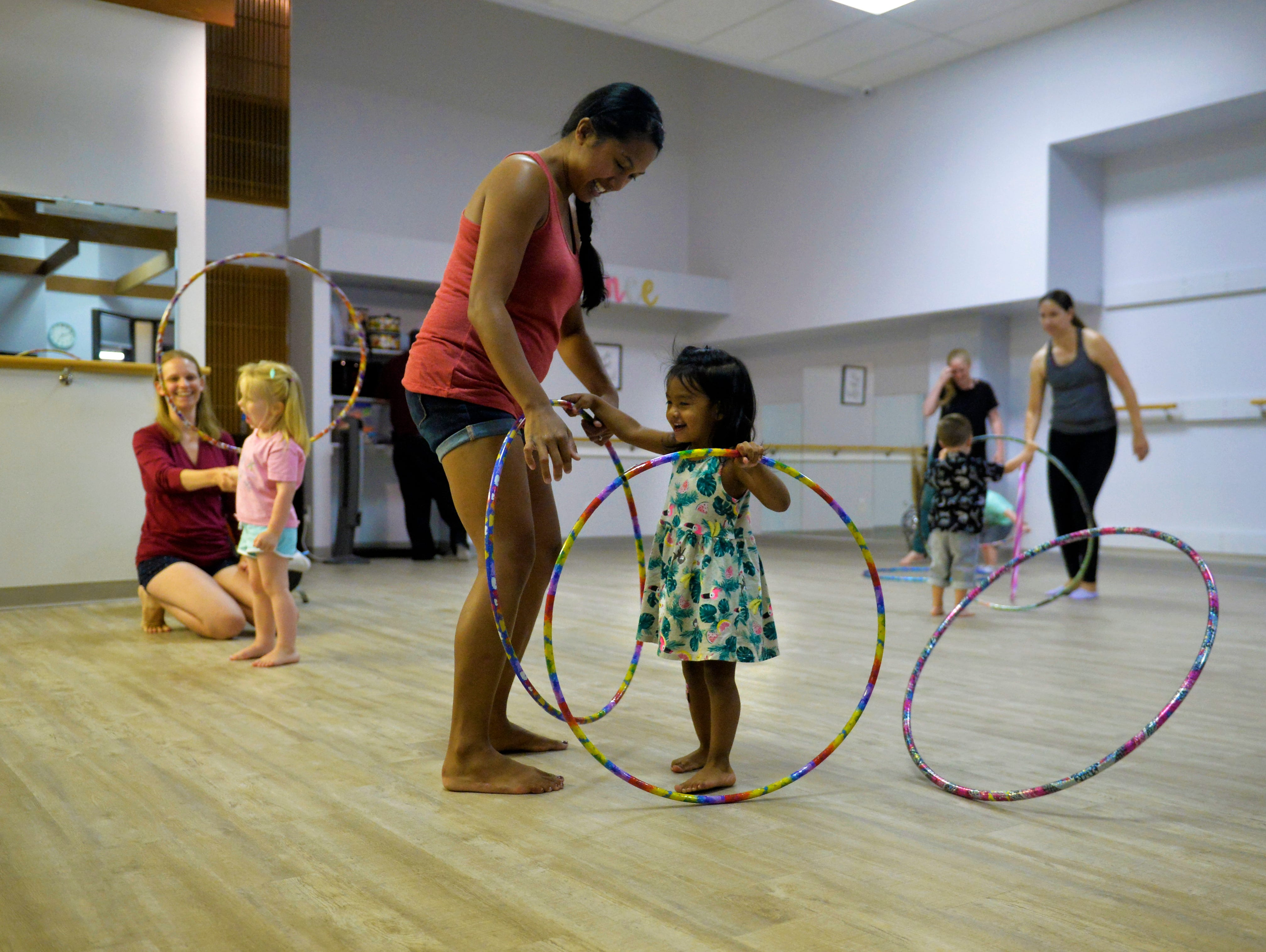 Bass Clef School of Music class for toddlers and parents recently.