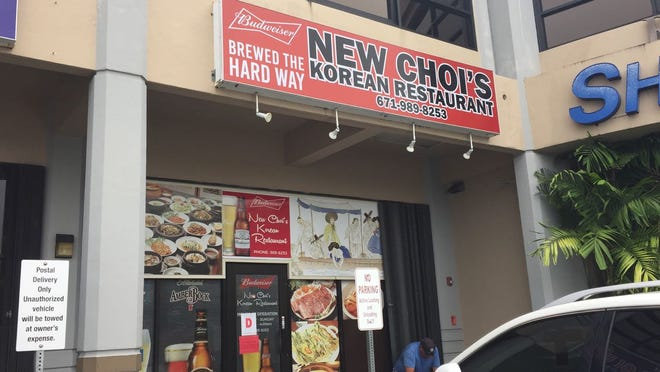 New Choi's Korean Restaurant in Upper Tumon was shut down by Public Health after inspection Wednesday, Aug. 15, 2018.