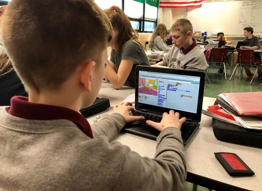 Henderson County provides students with Chromebooks.