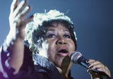 Aretha Franklin died at the age of 76.