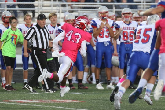 Emmanuel Davis has been a three-year starter for Fishers.