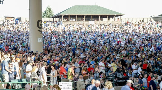 Ruoff Home Mortgage Music Center crowd safety