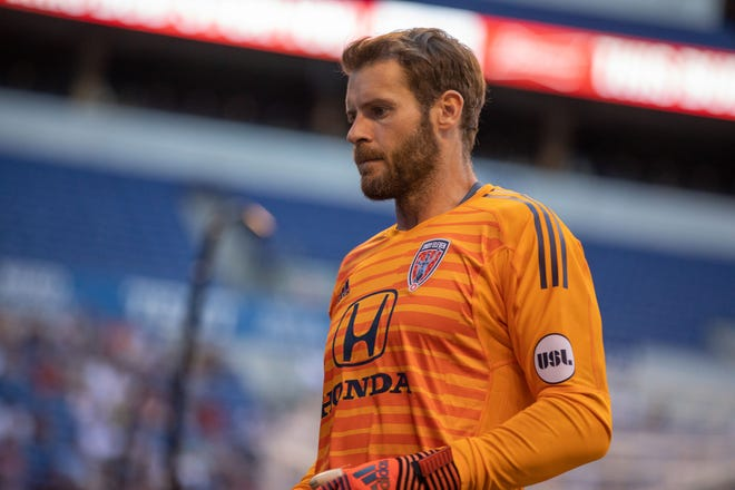 FILE --- Goalkeeper Owain Fon Williams of the Indy Eleven.