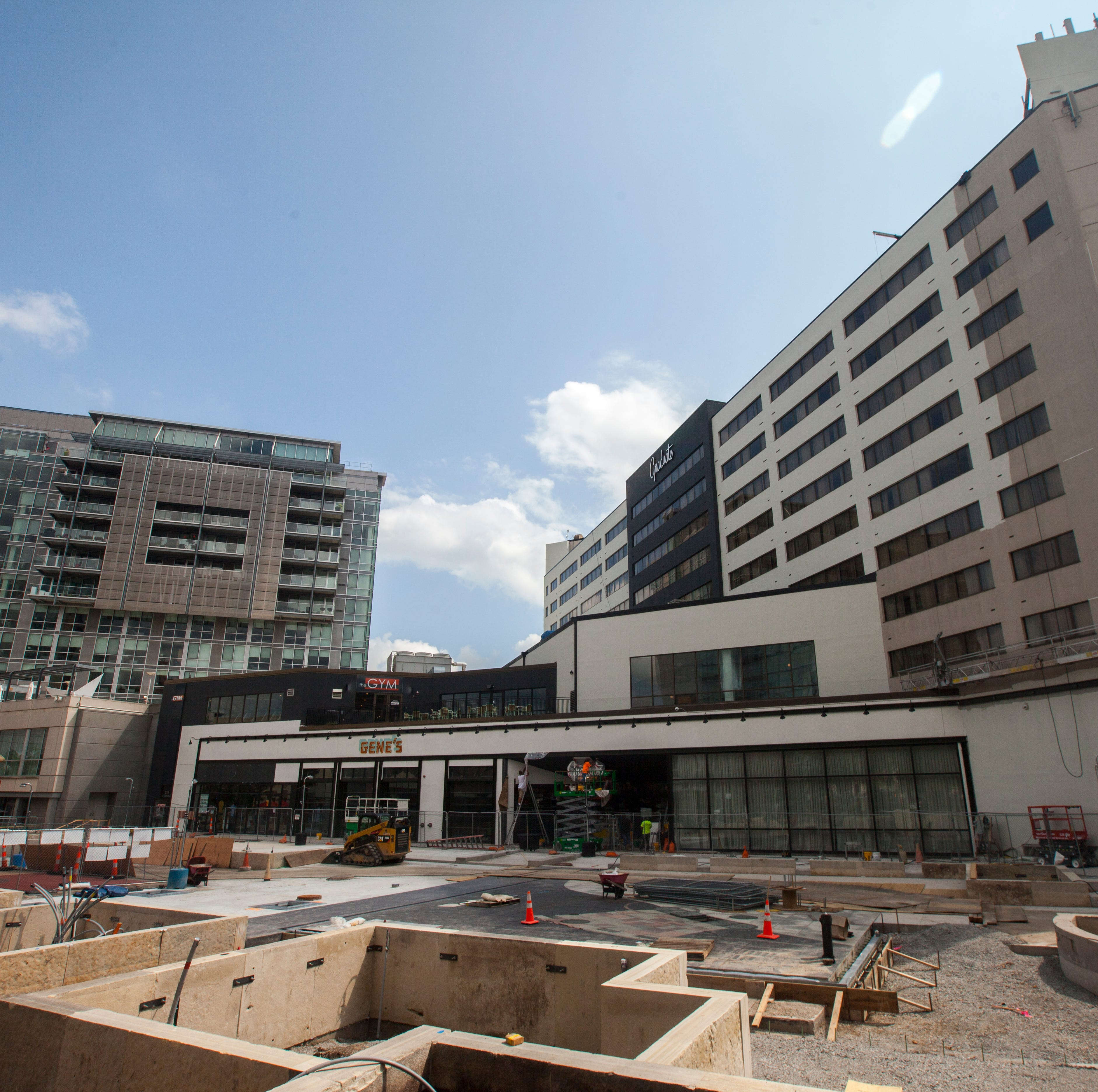 Downtown merchants remain patient through year 1 of ped mall construction season
