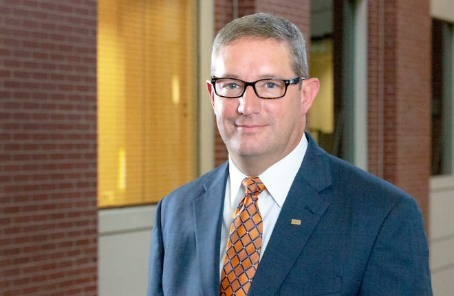 """Gabriel """"Gabe"""" Bolas II will be sworn in as president and CEO of Knoxville Utilities Board in October."""