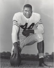Erich Barnes was an outstanding cornerback/wide receiver for Purdue in the mid-1950s before going on to a Pro Bowl career in the NFL.
