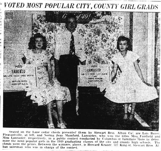 From the June 4, 1949 Lancaster Eagle-Gazette.