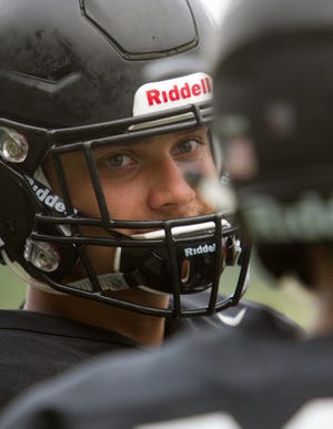 Pinckney lineman Jacob Price is a third-year starter who was a two-way first-team all-county selection last year.