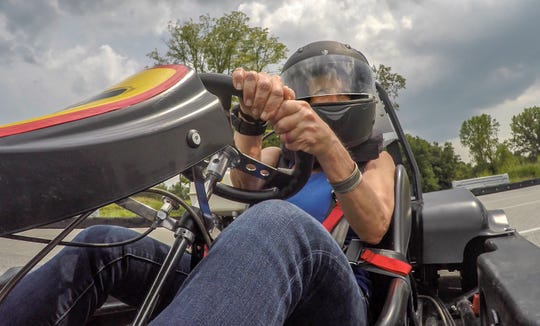 Kart racing at NCM Motorsport Park in Bowling Green.August 14, 2018