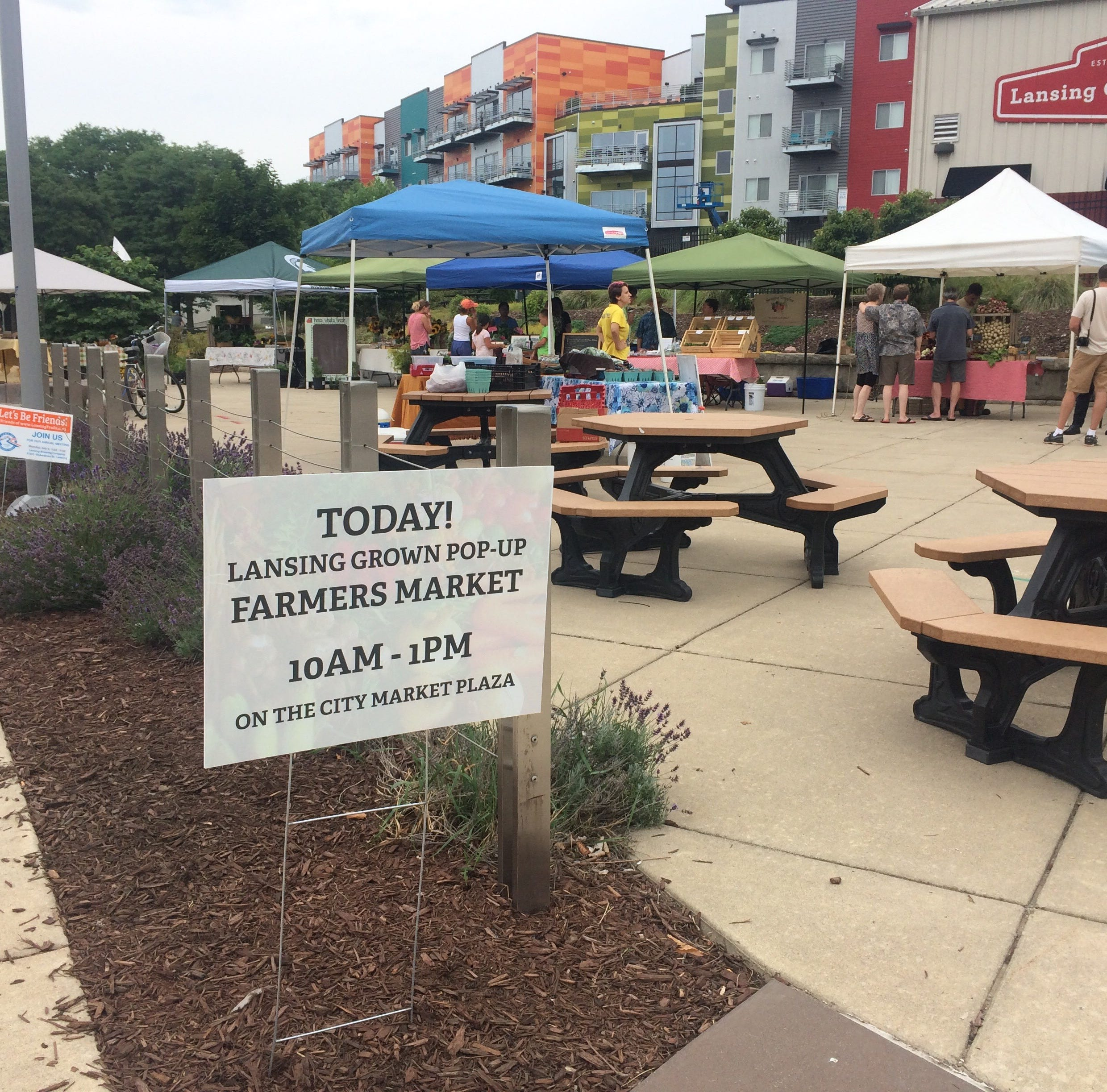 Putnam: Saturday pop-up market features produce from urban farms in Lansing, Lansing Township