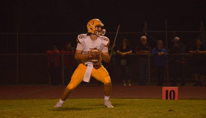 Buckeye Valley quarterback Grant Owens is a returning senior for the Barons.