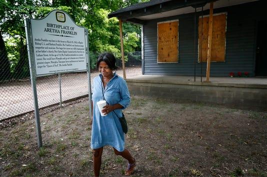 Aretha Franklin Birthplace