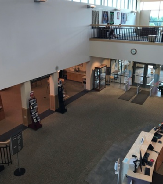 Greenfield Public Library Atrium