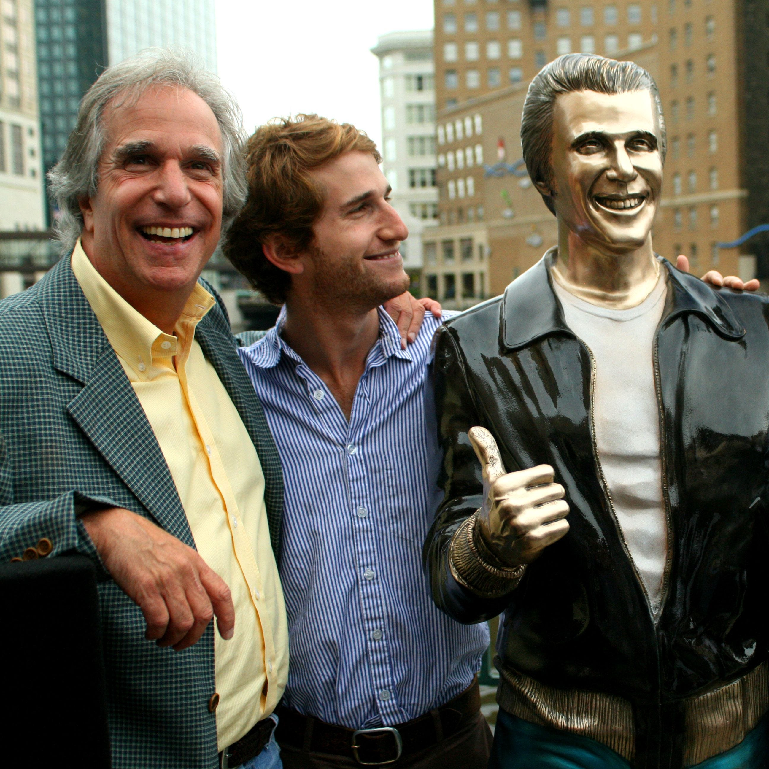 For 10 years, The Bronze Fonz has been a favorite for visitors to Milwaukee