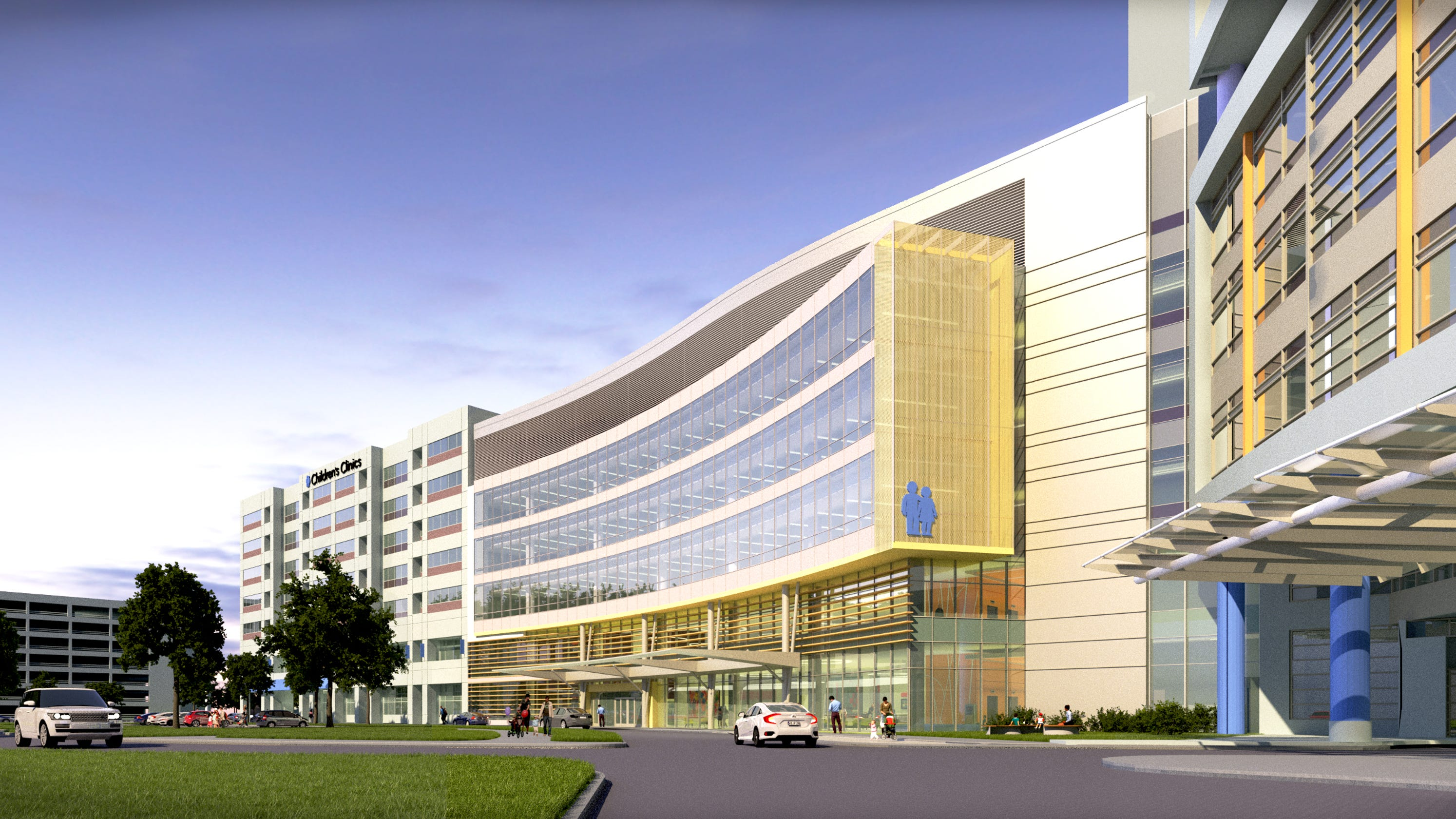 Chw Hospital Addition Viewing North Crop Width Height Fit Bounds Childrens Wisconsin Announces Million