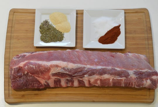 A simple rub is all you need to grill these ribs.