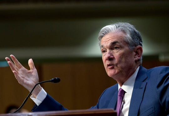 Federal Reserve Board Chair Jerome Powell testifies before the Senate Committee on Banking, Housing, and Urban Affairs on 'The Semiannual Monetary Policy Report to the Congress', at Capitol Hill in Washington on Tuesday, July 17, 2018.