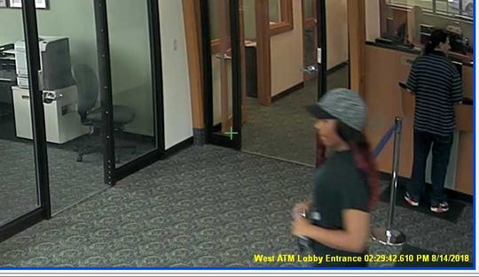 Milwaukee police are seeking this woman who robbed a bank on North King Drive.