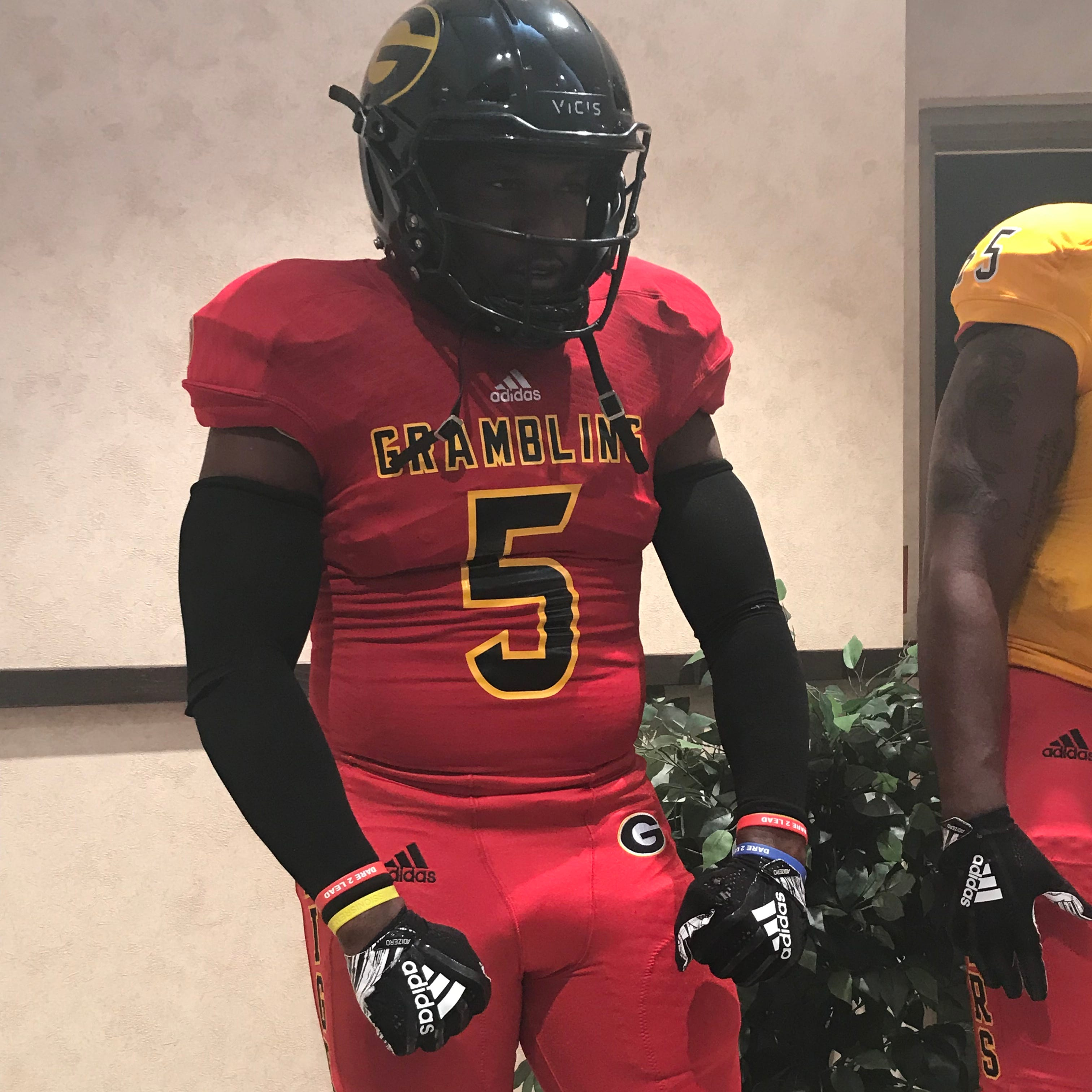 Grambling State unveils new adidas football uniforms
